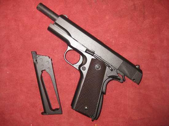 Swiss Arms 1911 Witness Co2 Blowback Full Metal Air Pistol
